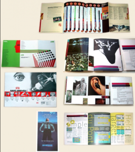 Marketing and Advertising printed pieces