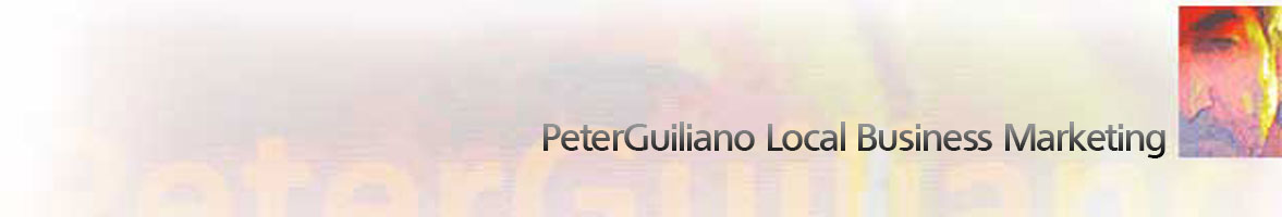 PeterGuiliano Local Business Marketing header image